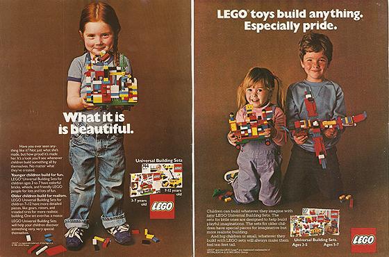 1981-es LEGO reklámok