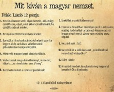 Mit kívánnak az erdélyi fiatalok? Az IMF székelyét helyezzék át Korondra!