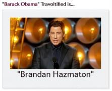 És a te neved hogyan ejti John Travolta?