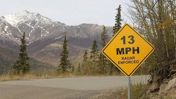 13 m/óra fölött radarveszély!