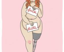 """""""Engem nem zavar, ha valaki kövér, amíg otthon a négy fal között csinálja"""""""