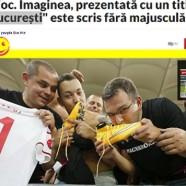 Nemzeti sérelemnek értelmezte a magyar helyesírás szabályait a román sportsajtó