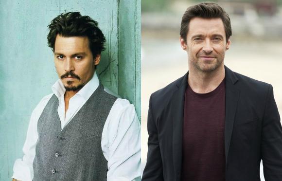 Johnny Depp és Hugh Jackman