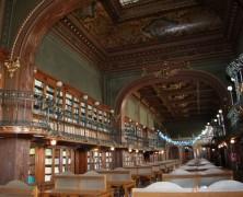Romániai a világ legszebb könyvtára