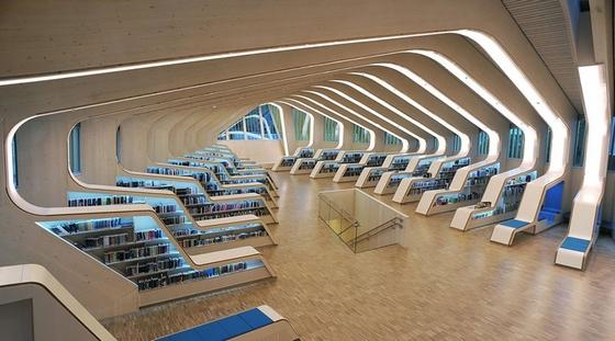 Vennesla városi könyvtára (Norvégia)