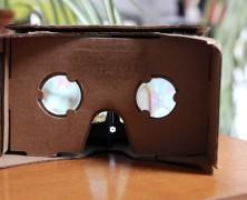 Kartonba csomagolta a virtuális valóságot a Google. Teszteltük