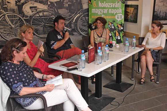 Molnár Bánffy Kata, Farkas Adrienn, Kovács Attila Zoltán, Szebeni Zsuzsa és Ugron Zsolna