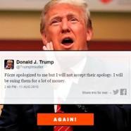 Hogy szóljon be neked Donald Trump!