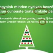 Kicsit hibás román szöveggel kíván boldog karácsonyt az Igen, tessék