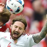 Eltorzult arccal szenvednek a magyar focisták