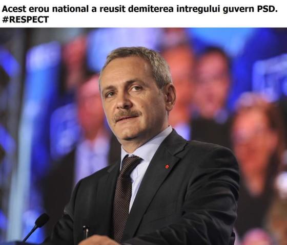 Ennek a nemzeti hősnek sikerült leváltania a teljes PSD-kormányt #respekt