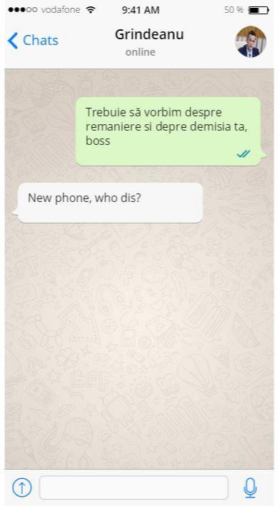 Új telefon, ki vagy?
