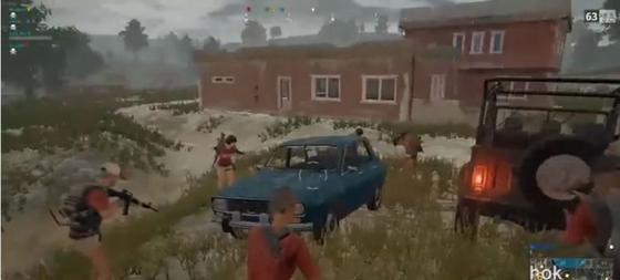 A játékban feltűnő autó