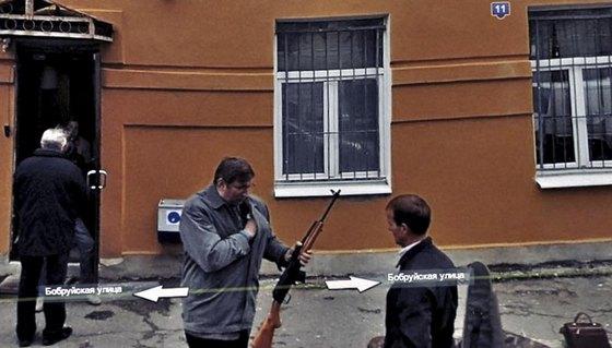 #4 Oroszország- Az úriember bizonyára a fegyvertartási engedélye után kutat