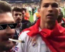 Egy kolozsvári fiatalembernek sikerült felbosszantania Cristiano Ronaldót