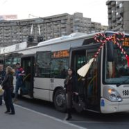 A márciuska ereje a kolozsvári buszsofőrökre is hat
