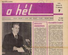 Tényleg A Hétben írták le először magyarul, hogy globális felmelegedés?