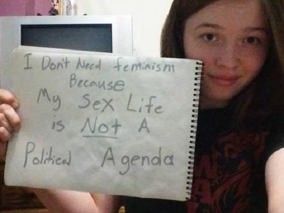 6idontneedfeminism