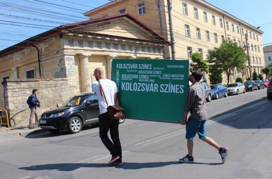 Most már egész Kolozsvár tudja, hogy Színes