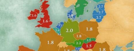 Itt a nagy európai nyelvtérkép: hányadik helyen állnak a magyarok?