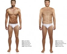 Megint összerakták a tökéletes testű férfit: szőrösebb, mint a tavalyi