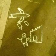 Ne rajzolj az aszfaltra háborút, mert az nem szabályos!