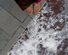 Télen bicikliutat takarítani? Minek?