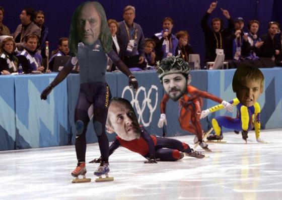Keresgélés közbe találtam meg az öt király háborújának olimpiai változatát
