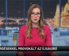 """""""Kérdésekkel provokált az újságíró"""" – leleplezték szakmánkat az M1 híradóban"""