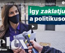 Így zaklasd a politikusokat – bemutató videóban válaszolt a Telex az M1 újságírók elleni csörtéjére